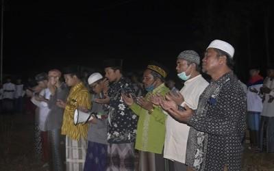 Tahlil Bersama Untuk Kelancaran Pembangunan Gedung Baru PPM Al-Iman Tebelian